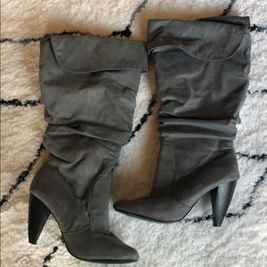 Slouchy Heeled Boot